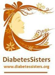 Diabetes Sister logo - a woman's face